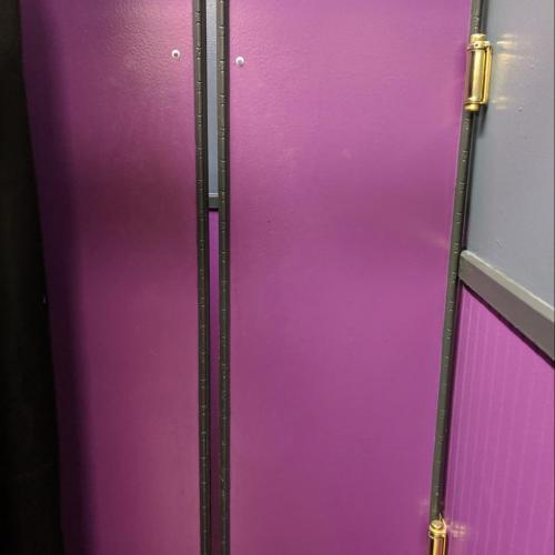 The parlor doors at Yur's Bar & Grill